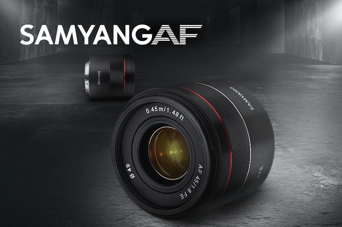 Samyang 45mm - Normaaliobjektiivi Sony FE:lle