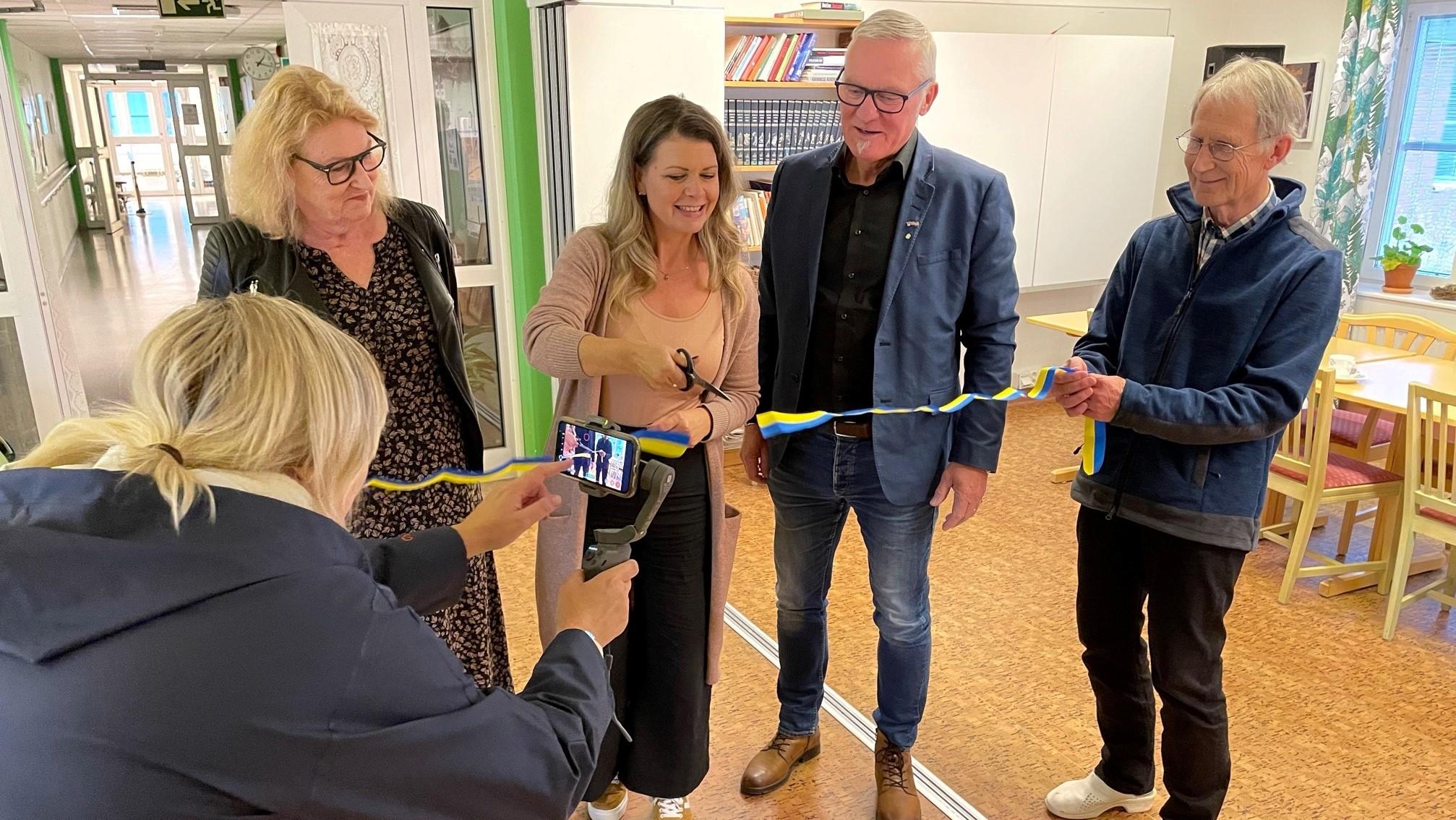 Lisbet Amnelius-Mörk (DSP), Sofia Jarl (C), Kjell Tenn (C),  Stig-Arne Wästerlund.