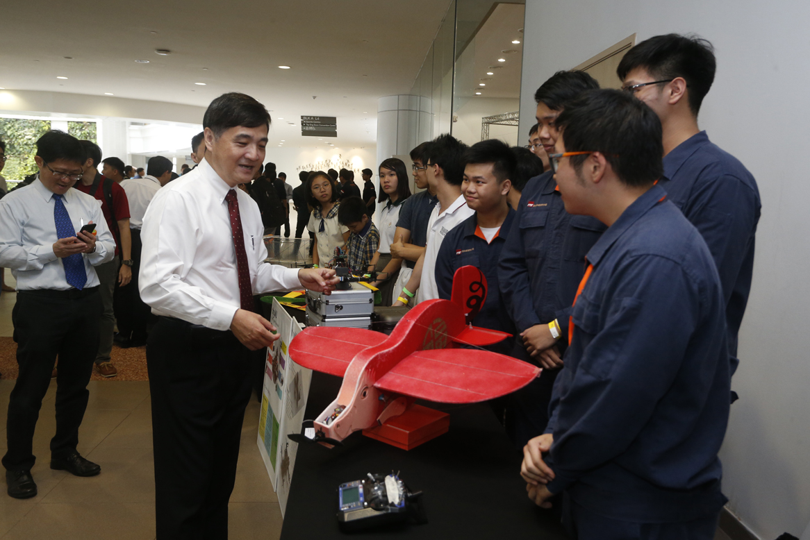 第11届新加坡新奇飞行器竞技赛拉开帷幕