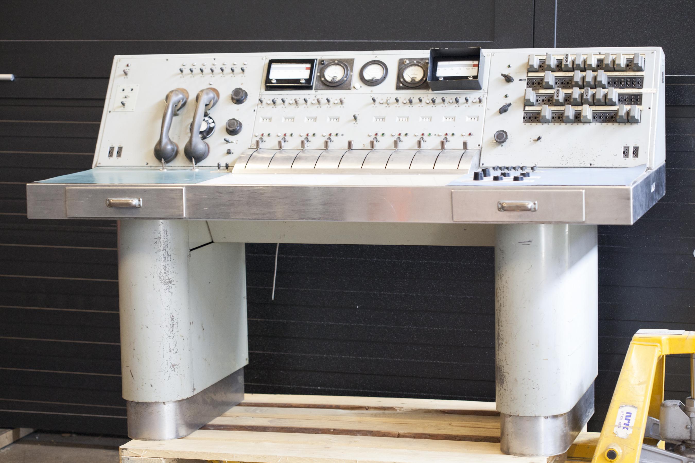 Mikrofon Norsk Teknisk Museum DigitaltMuseum