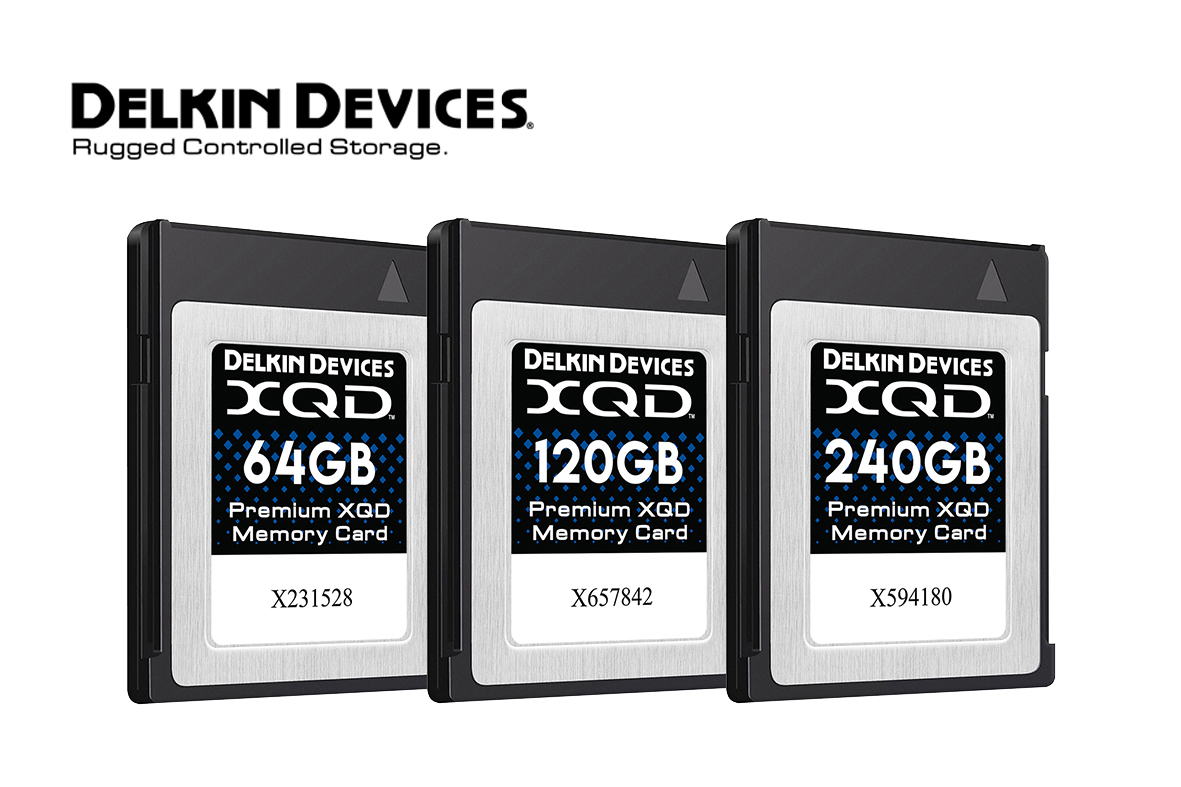 Delkin pristato maksimalaus našumo XQD korteles