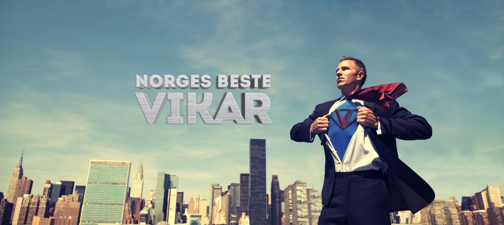 Jakter på Norges beste vikar