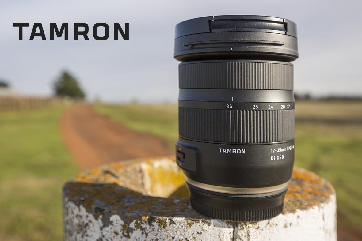 Tamron breddar sortimentet med 17-35mm f/2,8-4