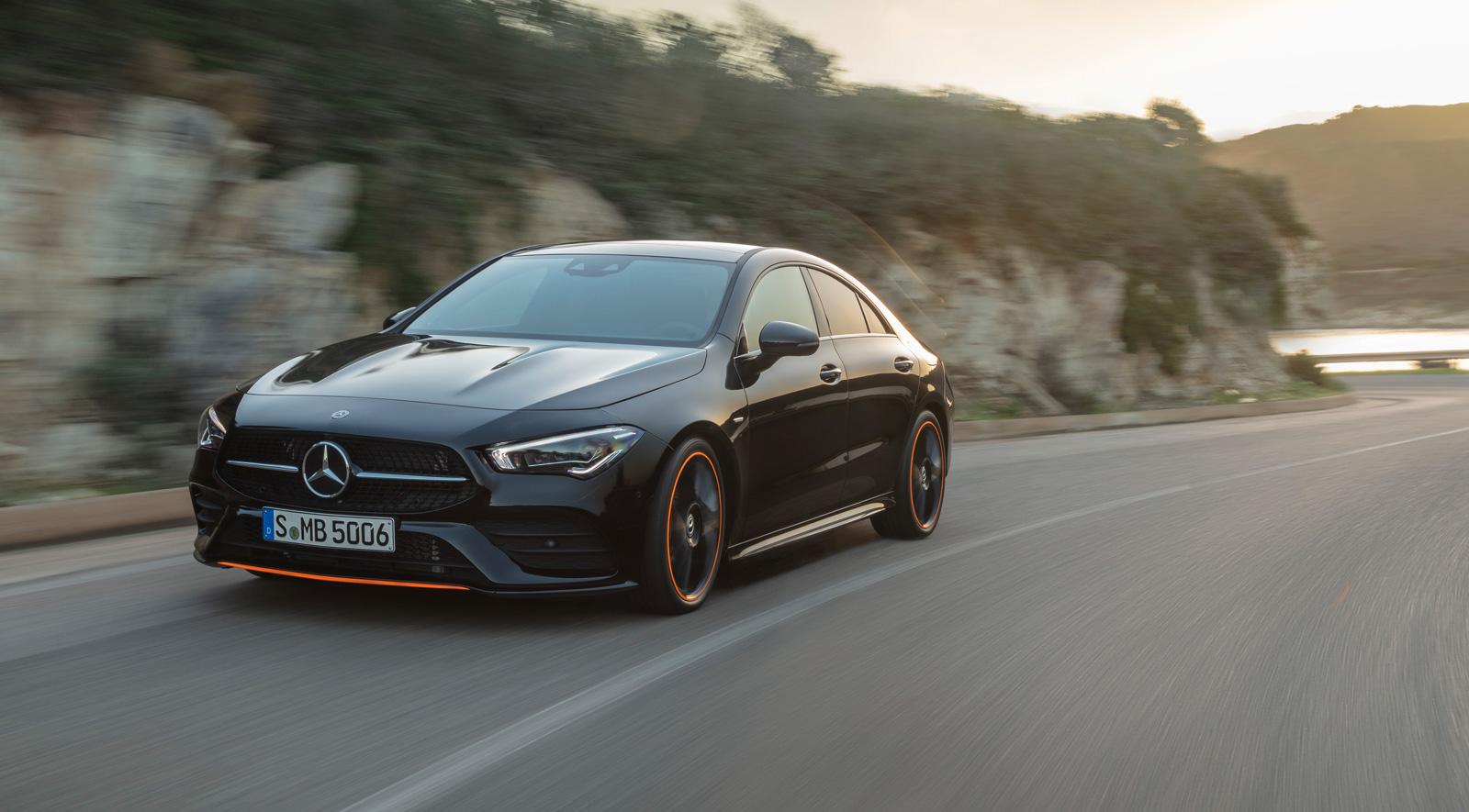 Svenska priser för nya Mercedes-Benz CLA Coupé