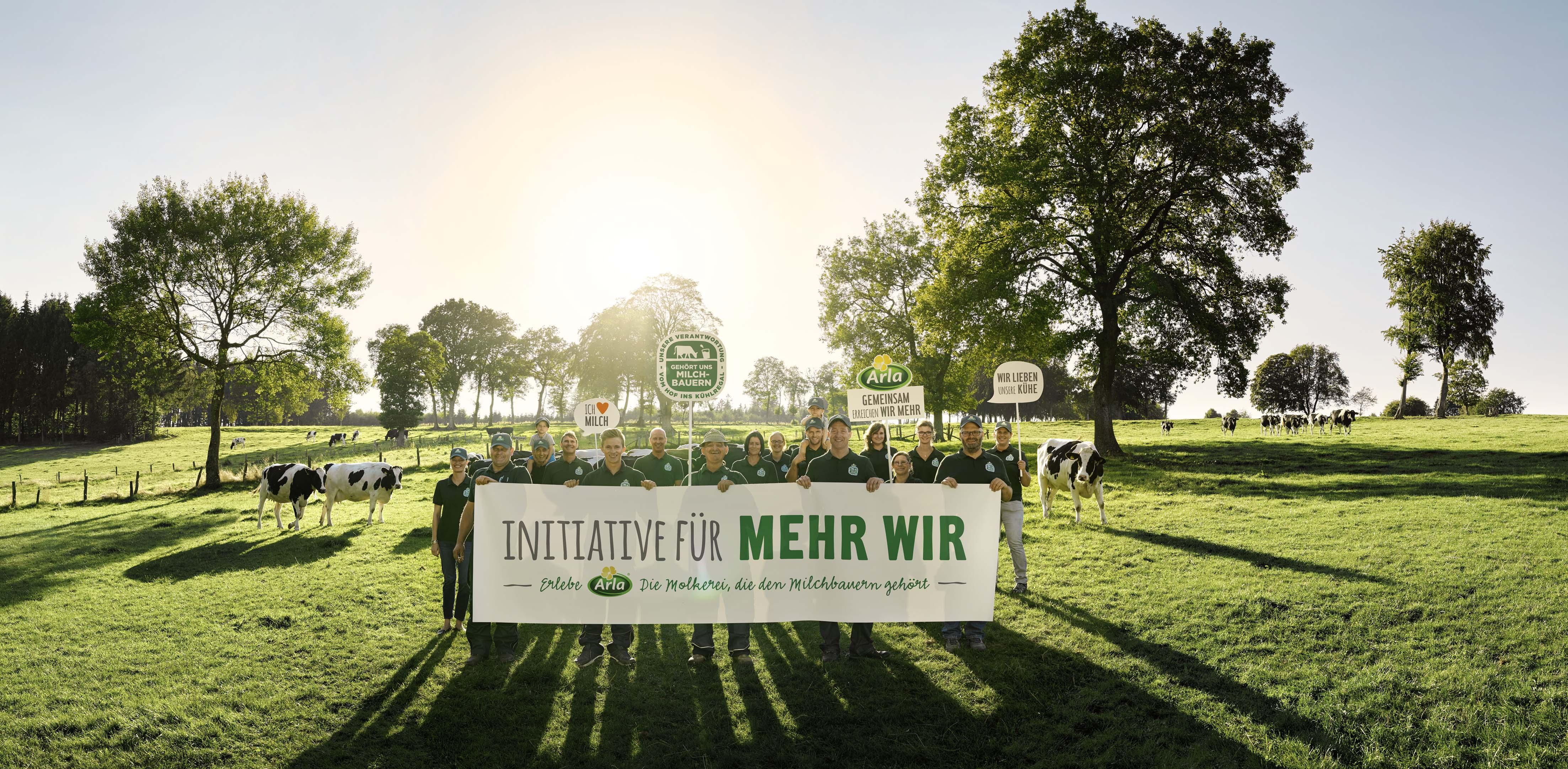 Die Arla Initiative für MEHR WIR