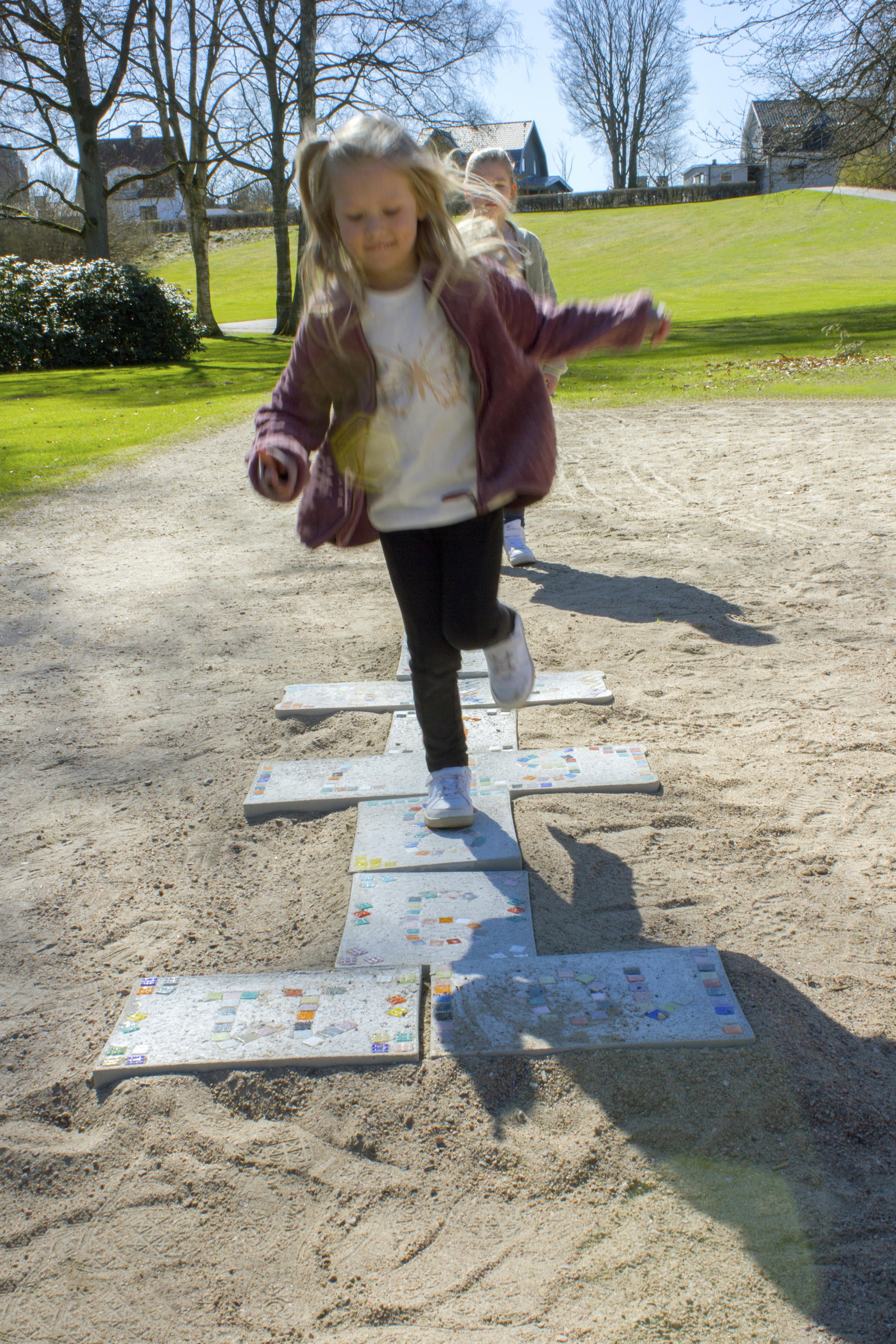 DIY - Gjut hoppahageplattor till barnen 1