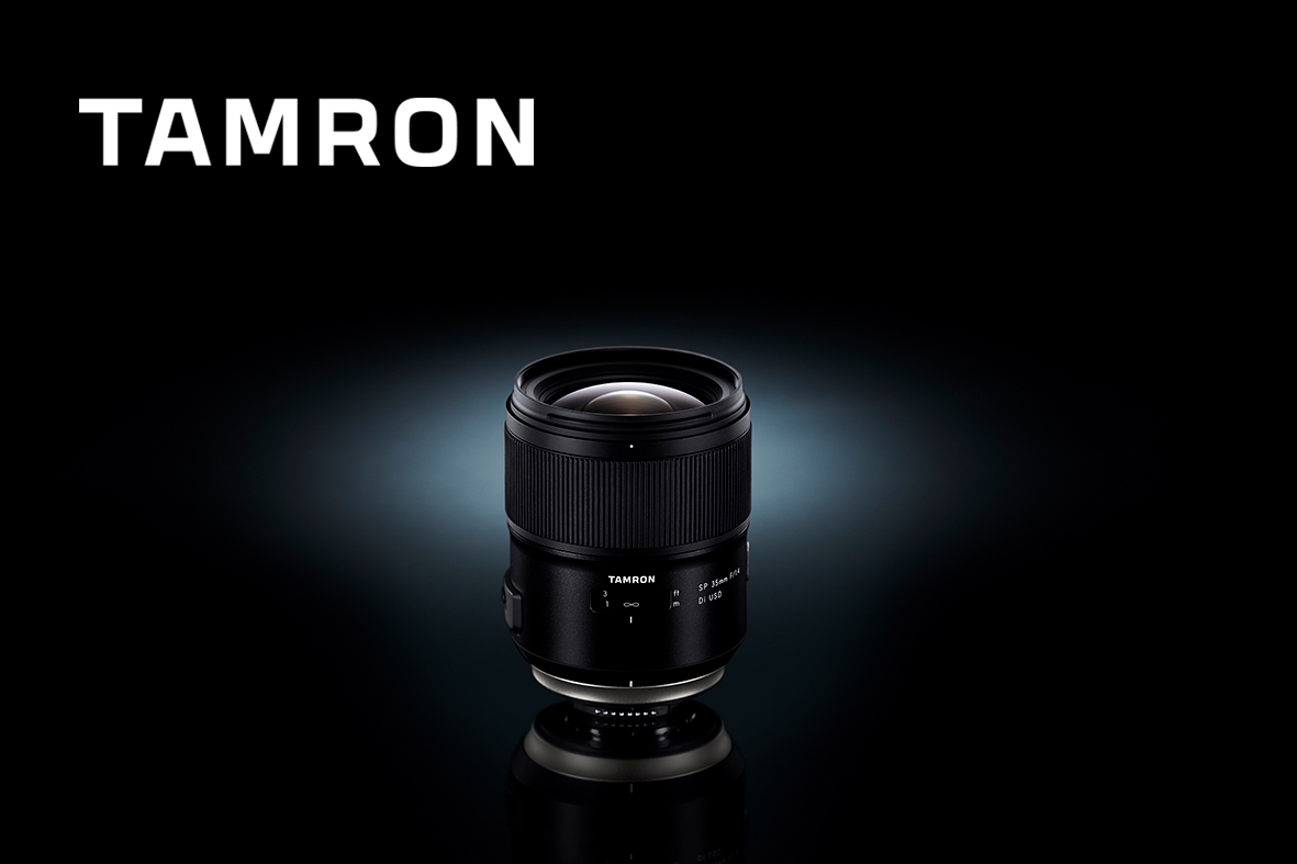 Ultraskarpt 35mm f/1.4 från Tamron
