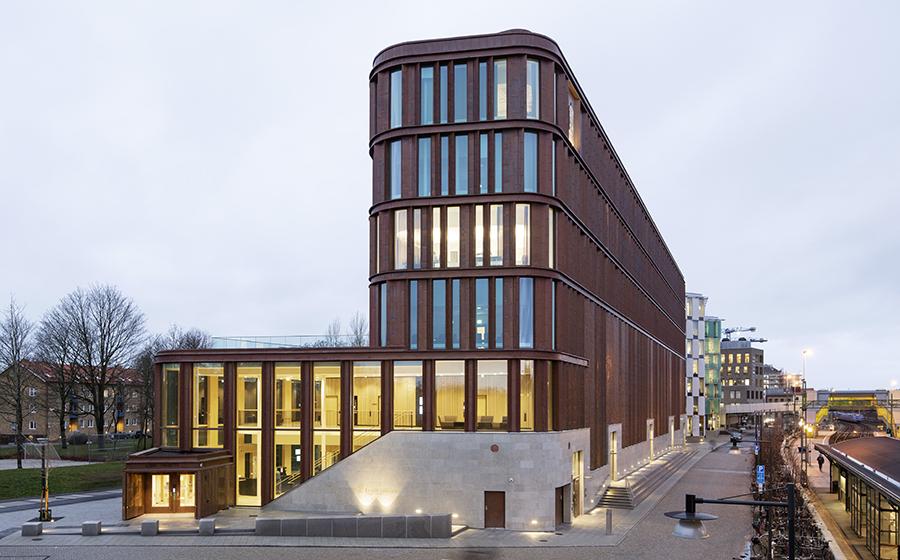 Nya tingsrätten får 2018 års stadsbyggnadspris. Foto: Kasper Dudzik