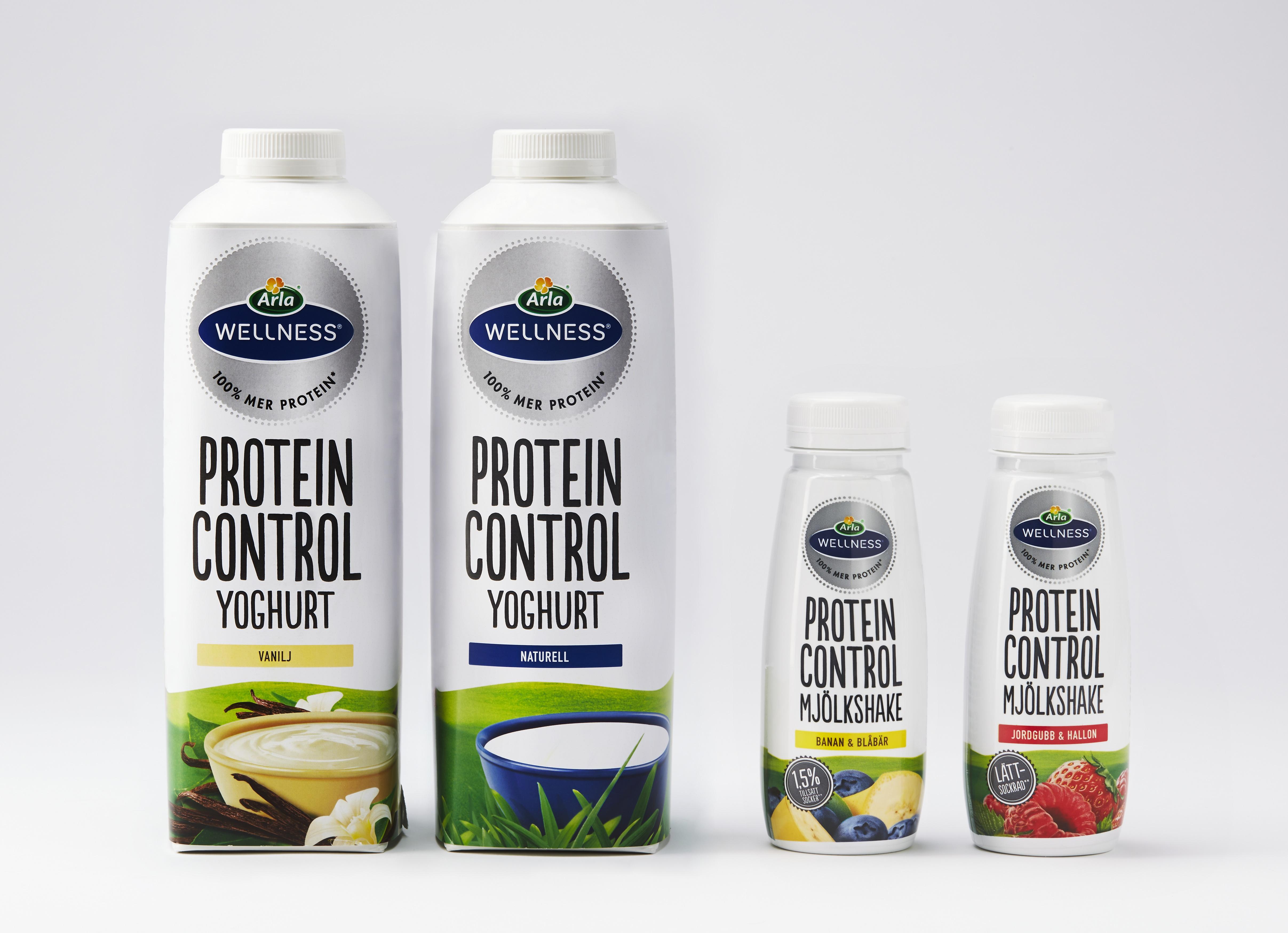 arla wellness protein control