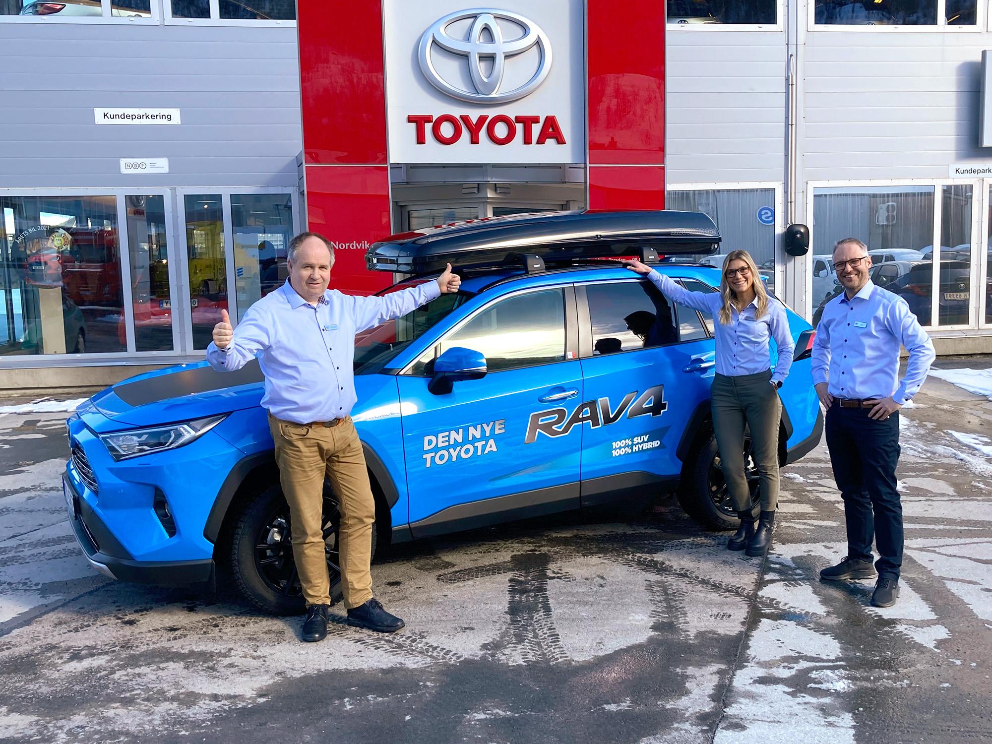 Toyota er Narviks mest kjøpte bilmerke i første kvartal