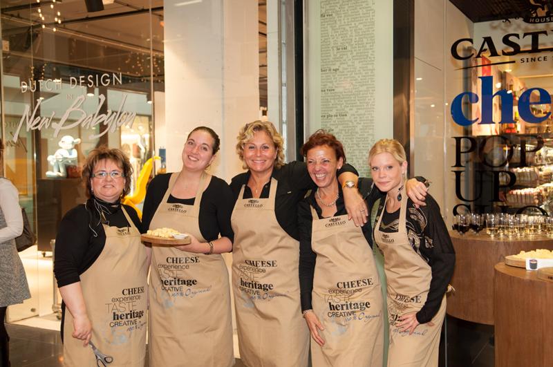 Die Welt des Käses entdecken: Erster Castello® Pop-Up Store weltweit in Den Haag eröffnet