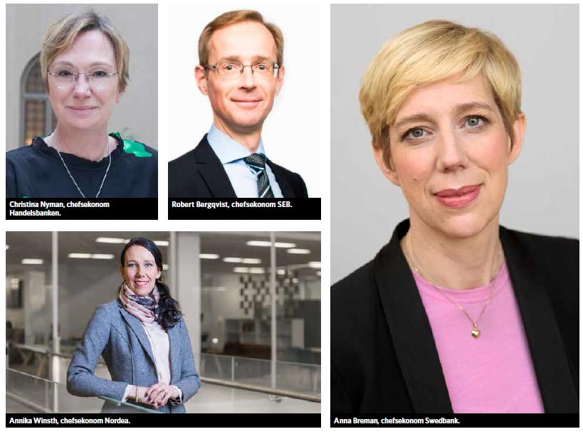 Chefsekonomerna tror på ett starkt Norrland
