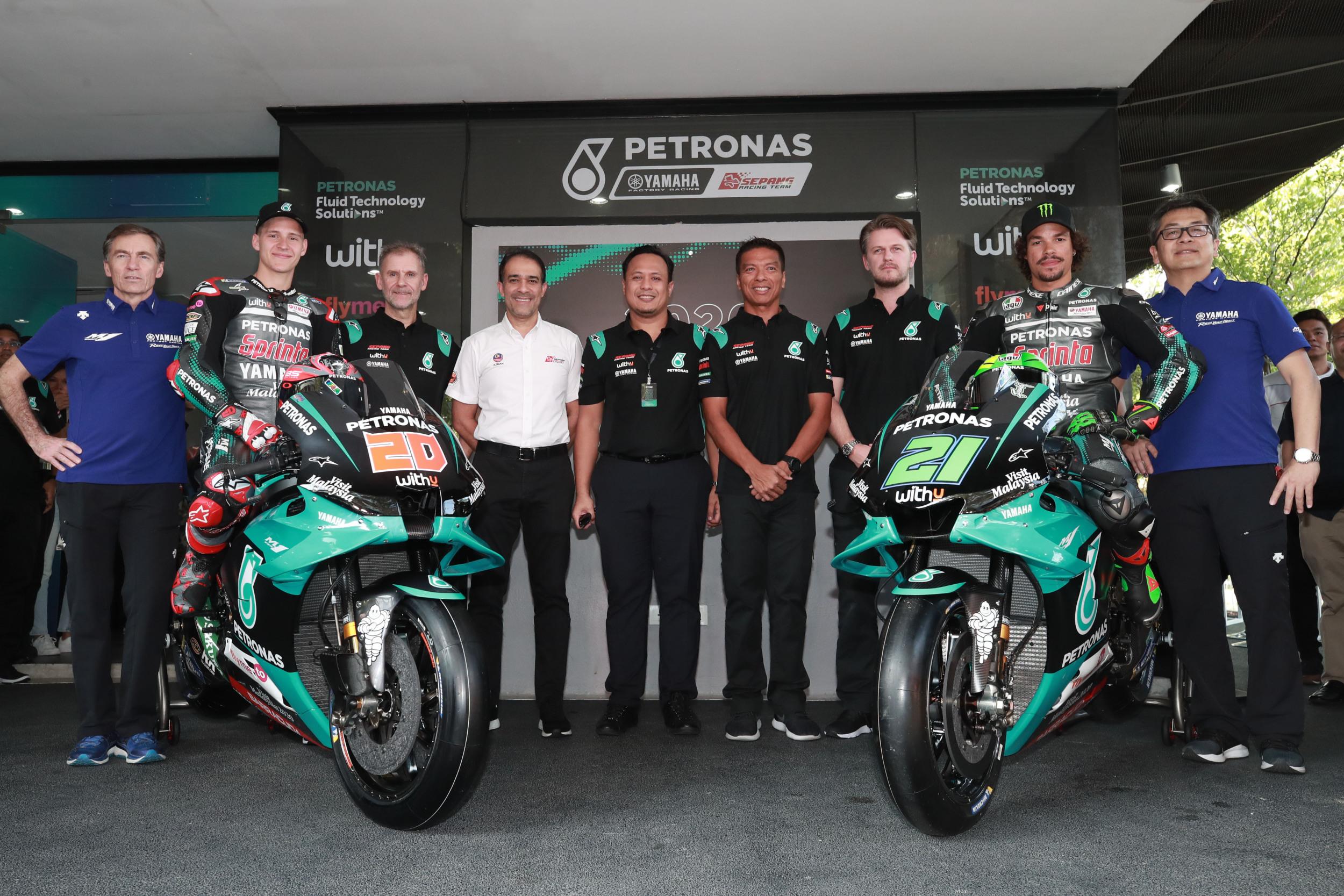 Petronas Yamaha Sepang Racing Team Launch 2020 Campaign Yamaha Motor Co Ltd