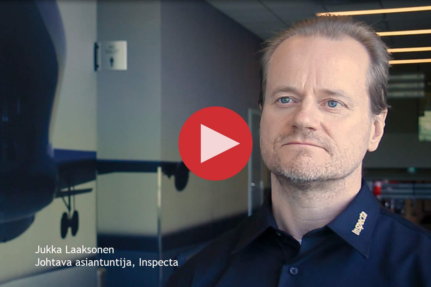 Jukka Laaksonen, johtava asiantuntija, Inspecta