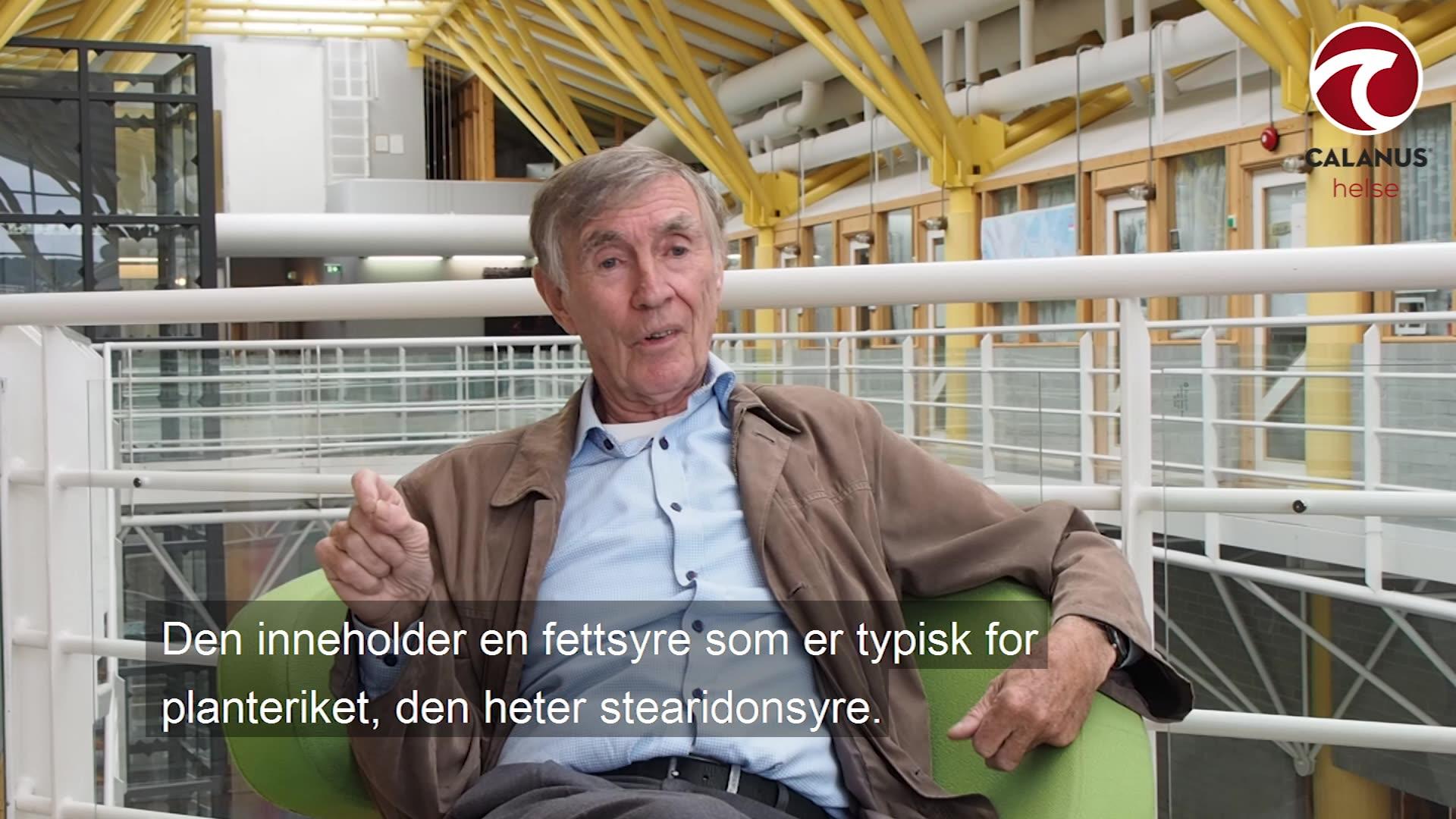 Professor emeritus Jan Raa om Calanus® Oil effekt på magefett