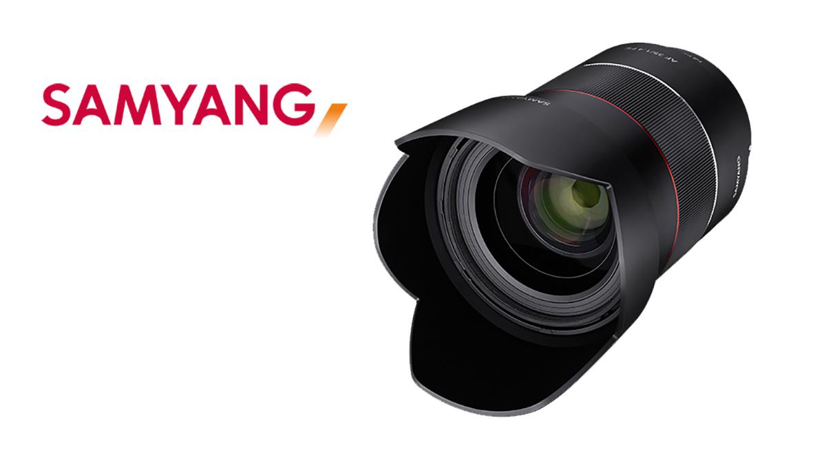 Naujas, greitas 35 mm, Sony sistemai skirtas objektyvas