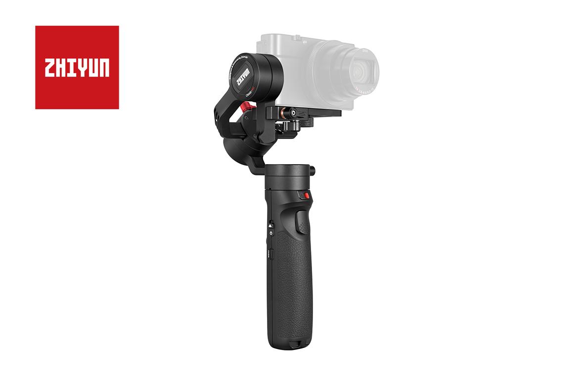 Ny Zhiyun CRANE M2 alt-i-én kamerastabilisator byder på ultimativ alsidighed og kompakt design