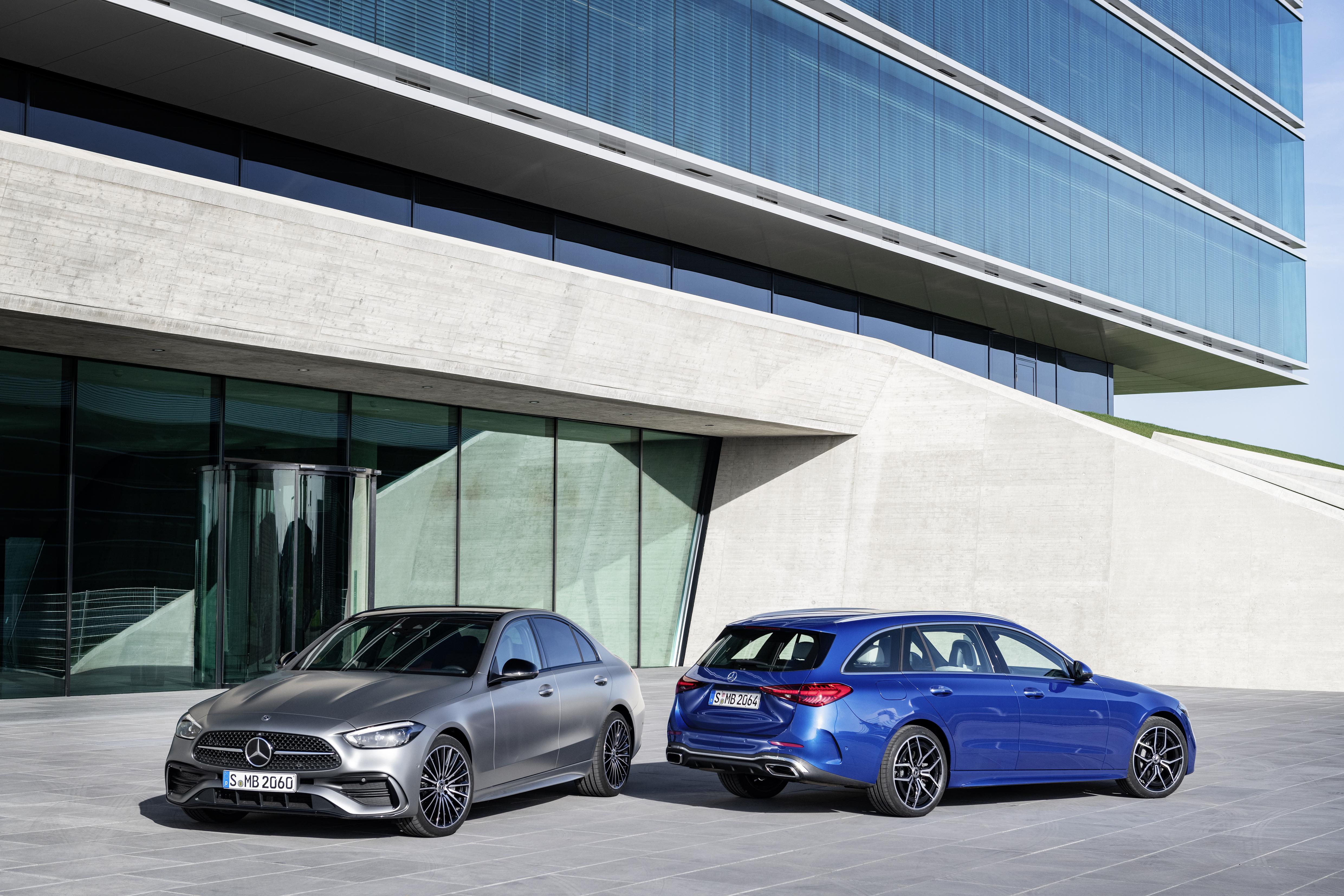 Helt ny Mercedes-Benz C-Klass visad - alltid elektrifierad
