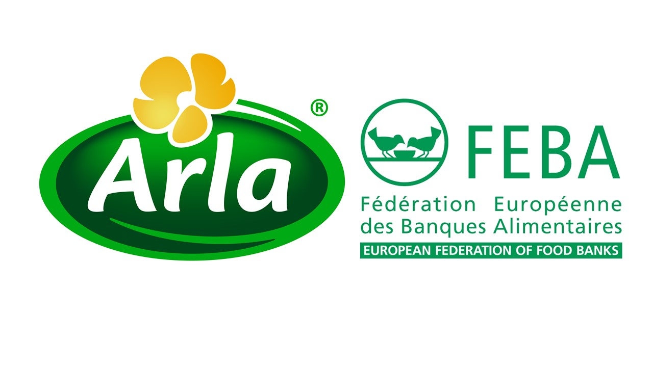 New partnership with the European Federation of Food Banks as Arla continues to cut food waste
