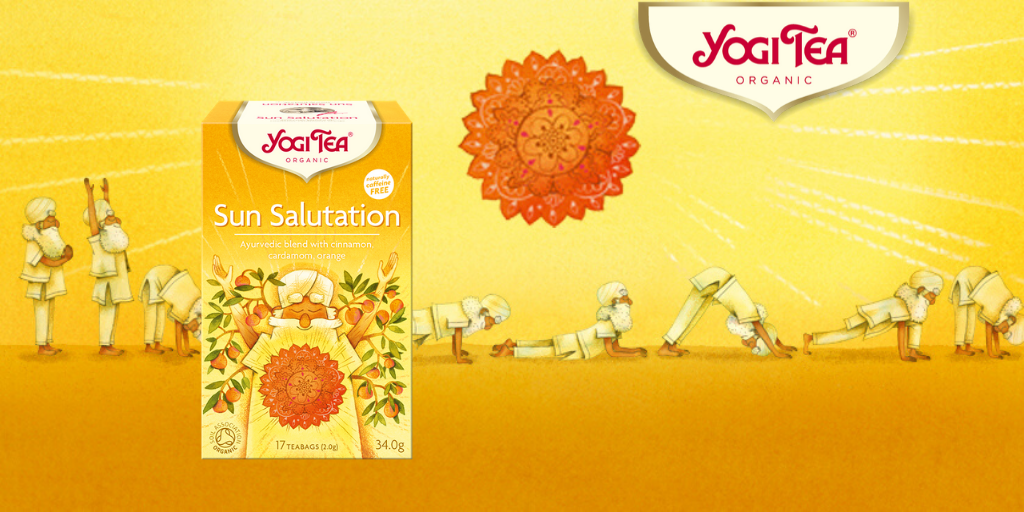 UUTUUS YOGI TEA® Sun Salutation - Limited Edition