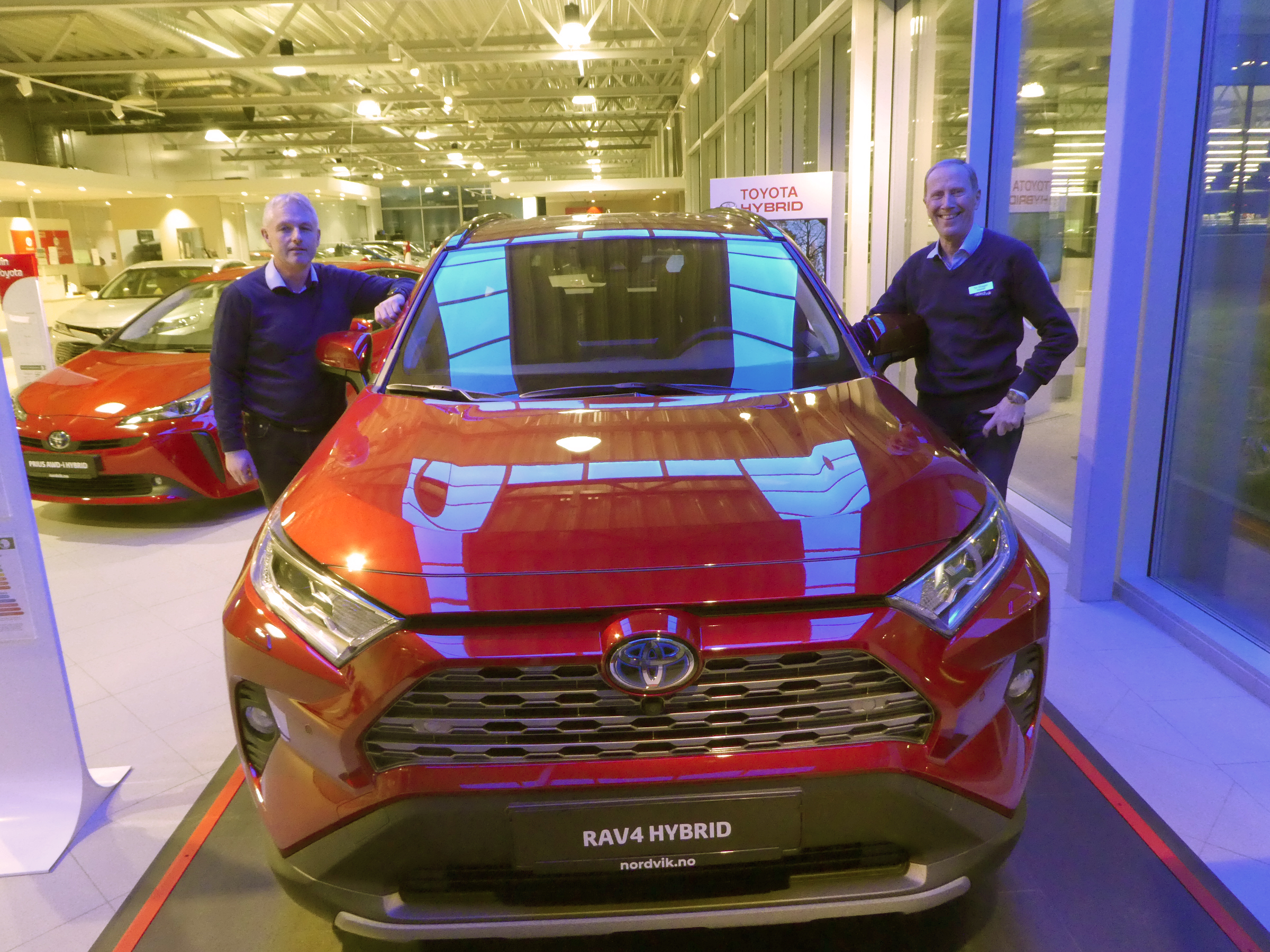 En bredde av bilmodeller sikret nok et solid år for Nordvik Toyota Sortland