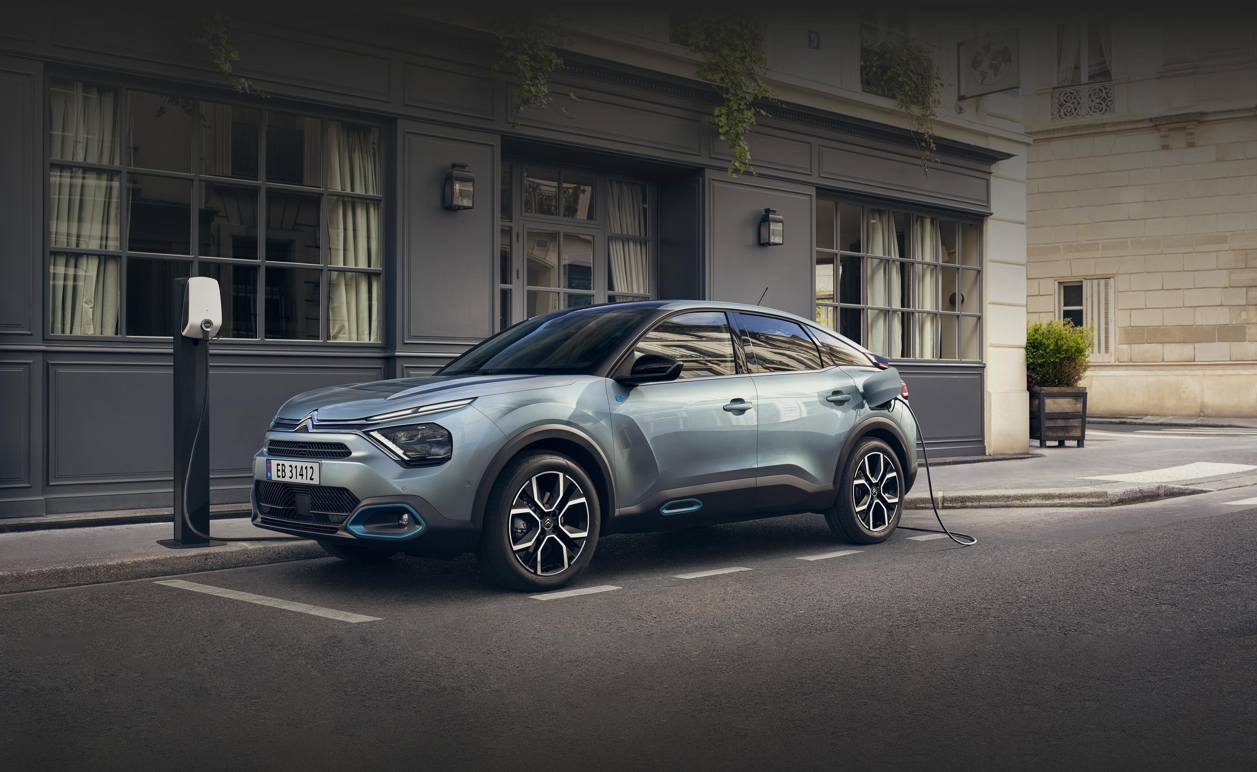 Citroën ë-C4: Elektrisk prisvinner på plass hos Nordvik