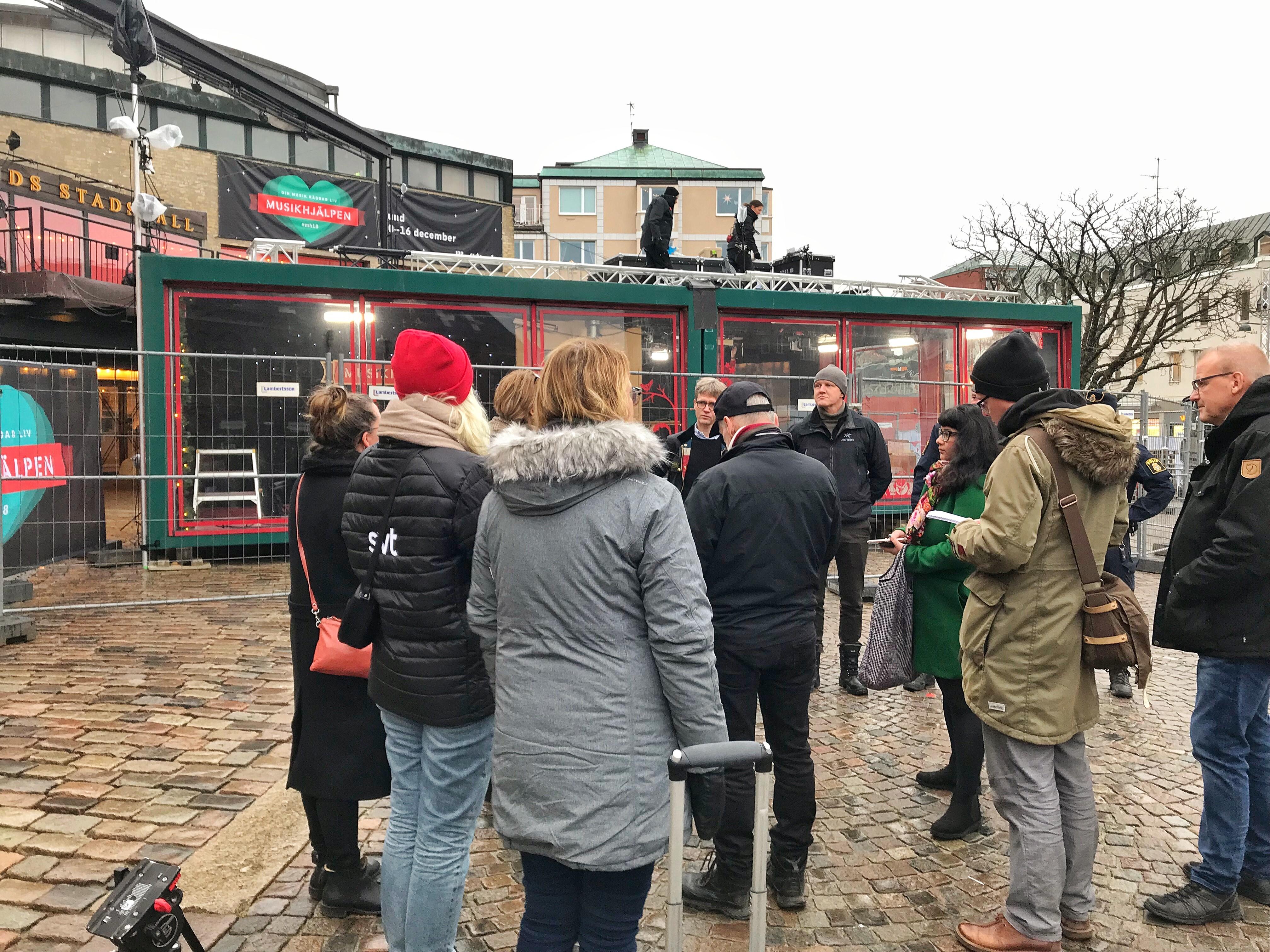 Företrädare för Lunds kommun, Handelsföreningen i Lund och polisen berättade idag om förberedelserna inför att Musikhjälpenveckan inleds i Lund på måndag.