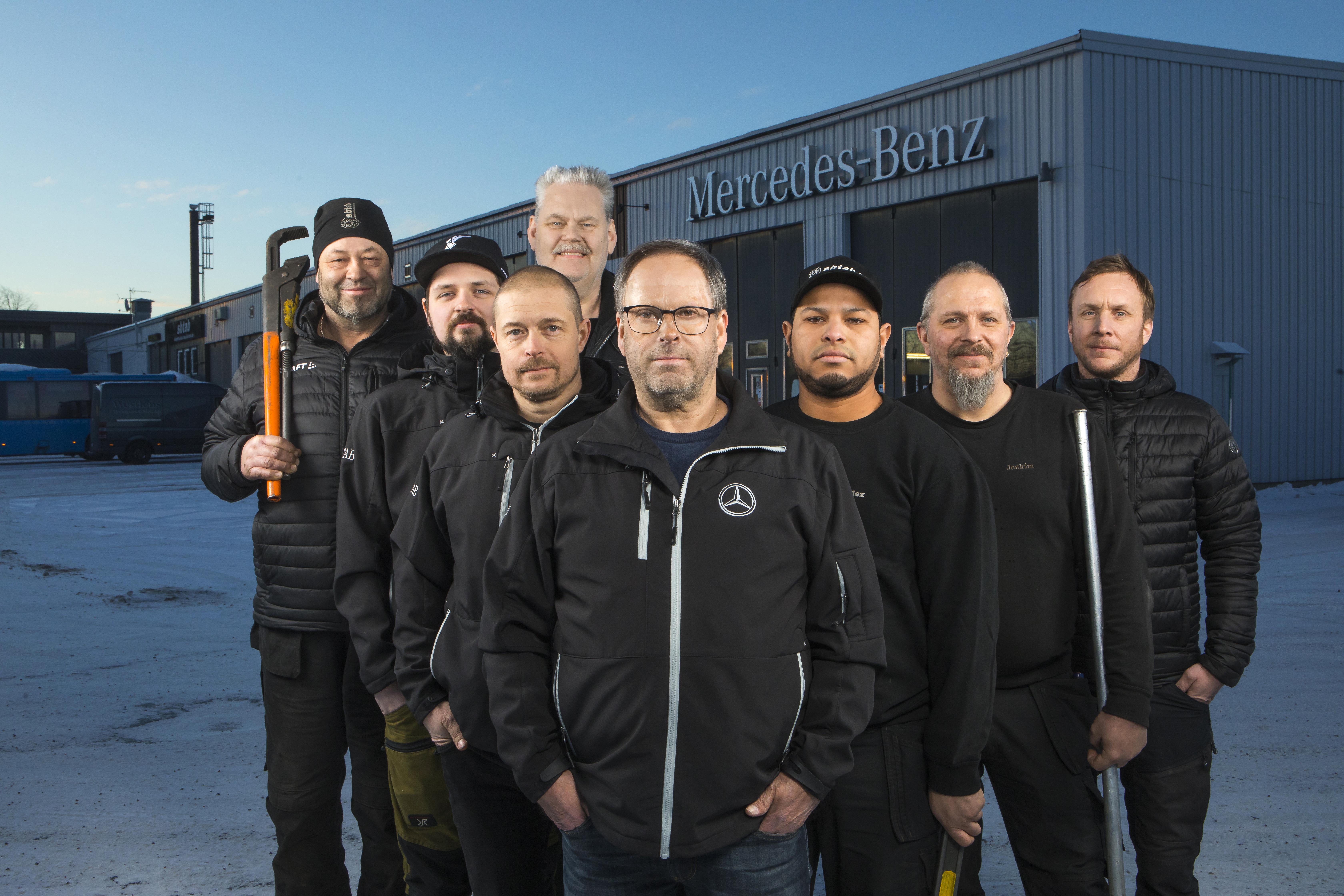 Söderhamn får stor verkstad för Mercedes-Benz last- och transportbilar