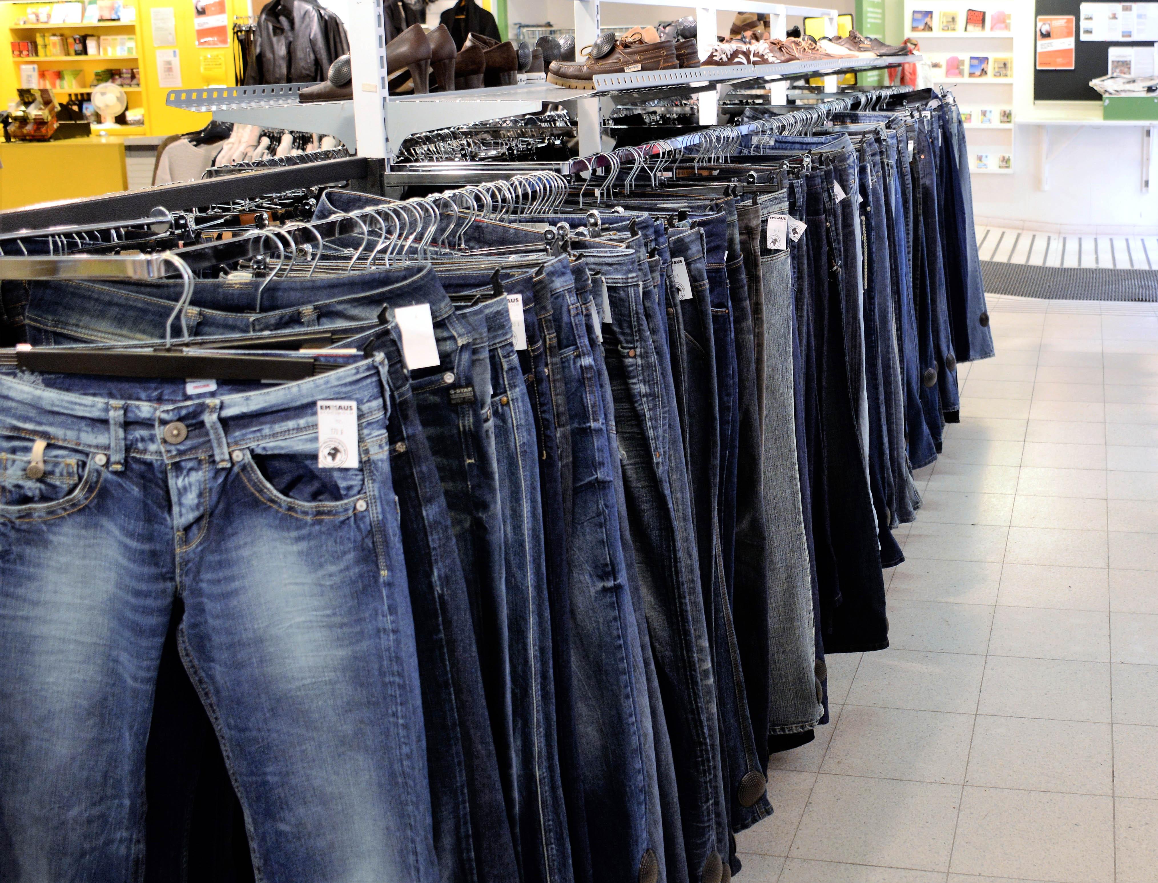 jeans affär stockholm