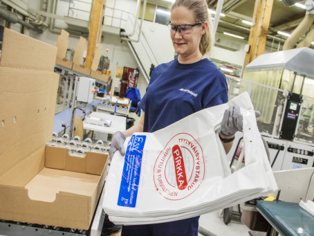Amerplast and Ekokem Develop ESSI, the New Circular Bag for the Finnish Market