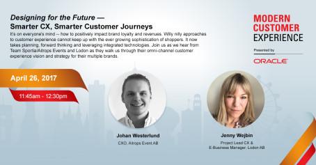 Intervju - Inför Oracle Moderna Customer Experience i Las Vegas april 2017