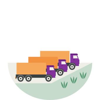 Klimatklivet- kan ge stöd för att skaffa miljövänligare lastbil