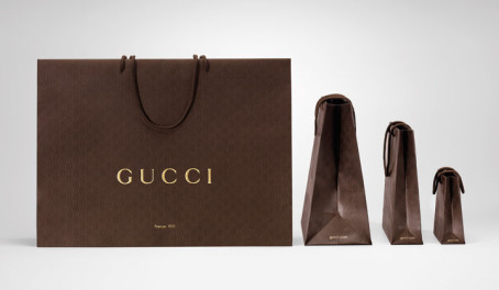 Did you know that Gucci's packaging is 100% recyclable?