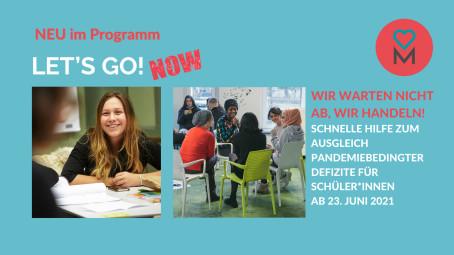 Schnelle Hilfe für Schüler*innen: DEIN MÜNCHEN startet mit neuem Programm LET'S GO! NOW