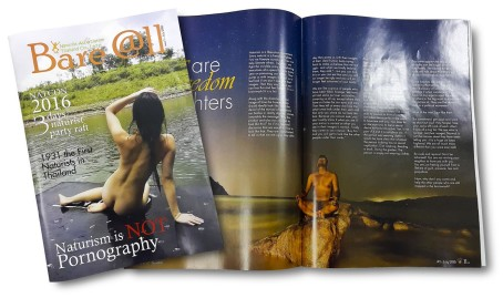 Naturist Association Thailand launches Bare@ll - a new naturist magazine for members
