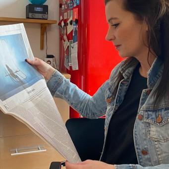 """DEIN MÜNCHEN in der SZ-Wochenendausgabe am 20.3.2021: """"Verloren"""" von Berit Dießelkämper"""
