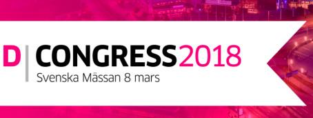 Träffa oss på D-Congress i Göteborg 8 mars 2018
