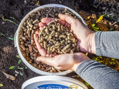 Bio-Dünger floraPell setzt auf Nachhaltigkeit