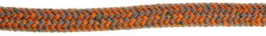 Bild med länk till högupplöst bild PolyRopes Poly-Braid-32 grå med orange kod
