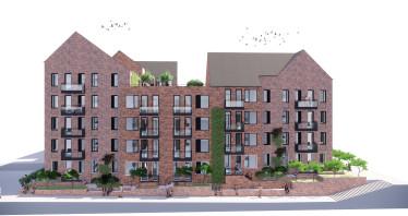 LINK er valgt som arkitekt på ny boligentreprise til 165 millioner kroner