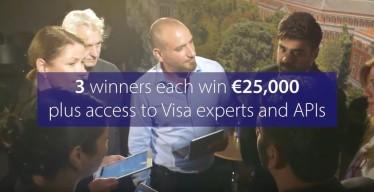 """Première édition européenne du programme """"Visa Everywhere Initiative"""": la start-up Kompas gagne 50 000 €"""
