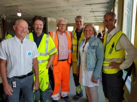 Milepæl for nye Tønsberg sykehus