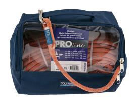 Bild med länk till högupplöst bild PolyRopes PROline - grå/orange i väska