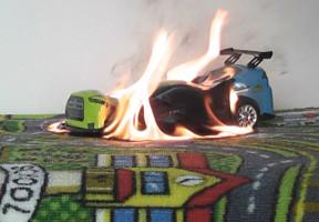Pas på brandfare i børneværelset