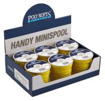 Bild med länk till högupplöst bild Polyestersilkelinor - Gul förpackning