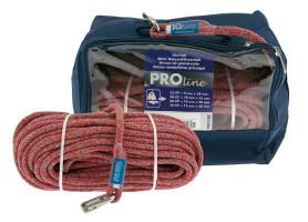 Bild med länk till högupplöst bild PolyRopes PROline - grå/röd i väska