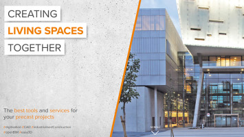 For highest efficiency in planning for 30 years now - Precast Software Engineering