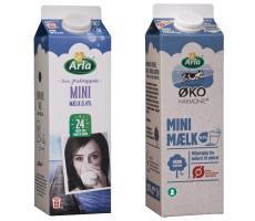 Arla 24 og Harmonie Minimælk med 0,4 % fedt