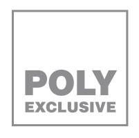 Bild med länk till högupplöst bild Poly Exclusive-logo