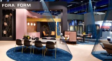 LINK arkitektur har stått for utforming av utstilling til Stockholm Furniture & Light Fair 2017
